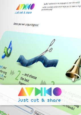 iPhone 着信音を無料(タダ)で作成する方法。(その2:Audiko.net)