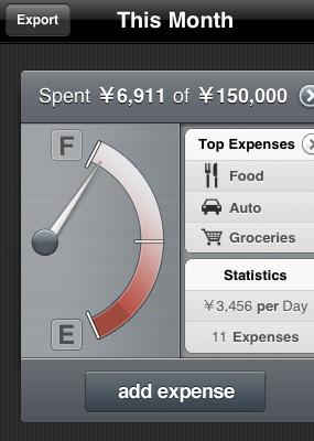 iPhone で支出管理:デザインの秀逸な家計簿アプリ「Pennies」。
