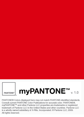 myPANTONE