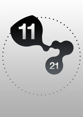「Orb Clock」。iPhoneならではの時計アプリ。