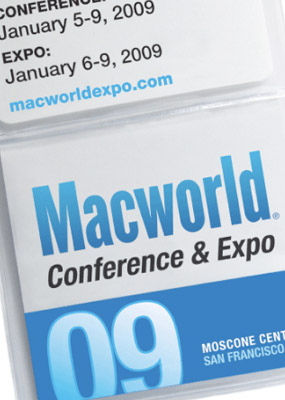 iPhoto顔認識機能とか、MacBook Pro 17inch とか:Macworld Expo 2009。