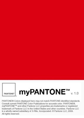 美麗&超絶ボリュームの色見本帳アプリ:『myPANTONE』。